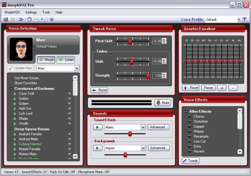 MorphVOX Pro 4.4.75 Cracked