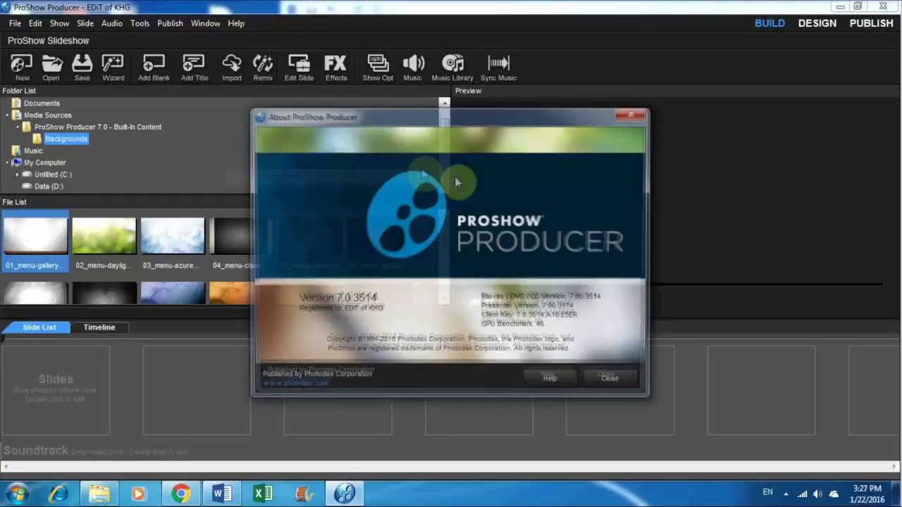 activation key for proshow producer 9