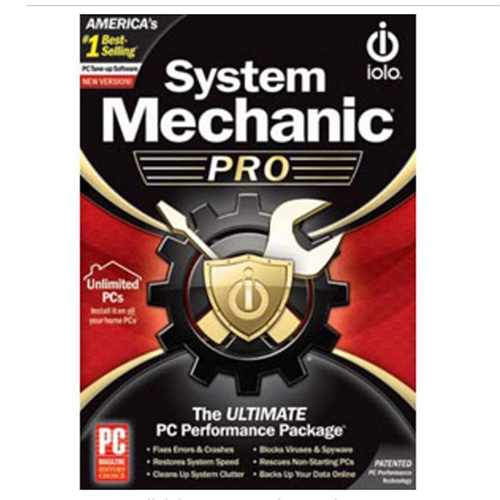 Iolo System Mechanic 17.5.0.116 Crack 2019 + Key Number