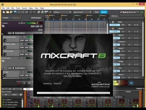 Mixcraft 8 1 Pro Studio Crack INCL Registration Code 2019 | Dock Softs