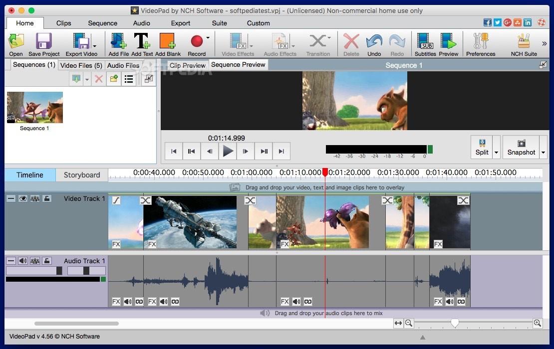 NCH VideoPad Video Editor 6 24 Crack & Code Registration