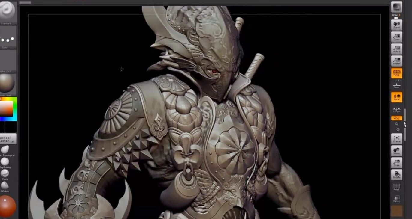 Pixologic ZBrush 4R8 Crack 2018 1 Fresh Edition [Mac][Win