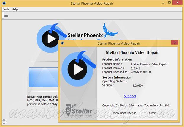 Stellar Phoenix Video Repair Software With Crack